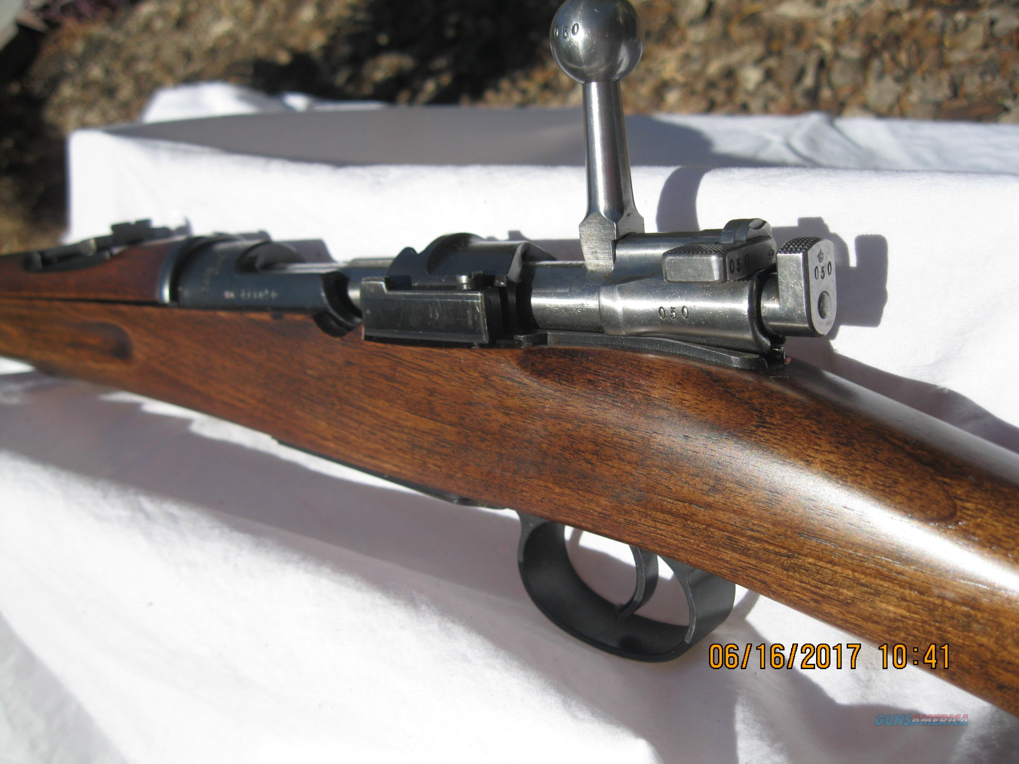 SWEDISH 1896 LONG RIFLE  Guns > Rifles > Military Misc. Rifles Non-US > Other