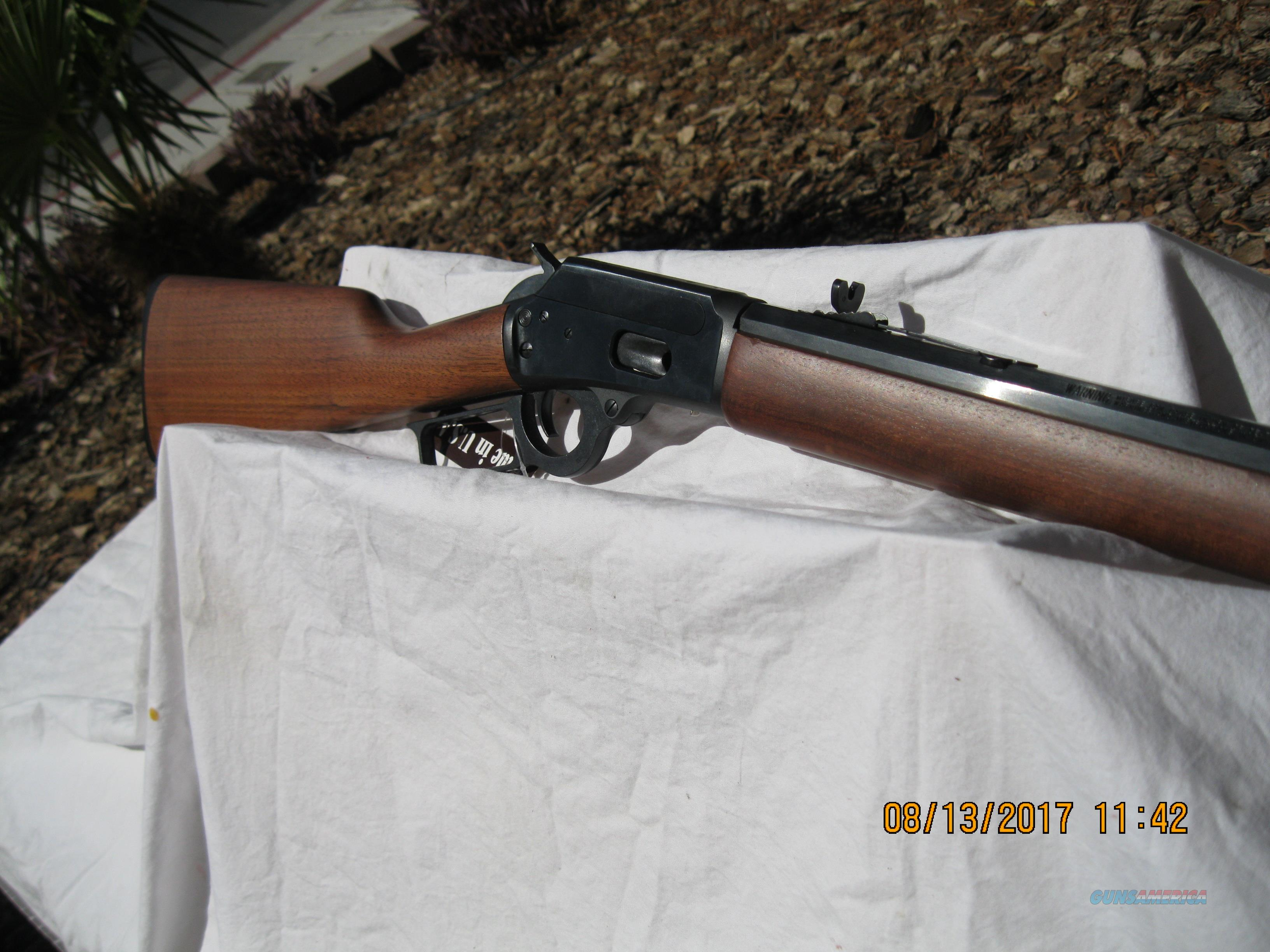 MARLIN LEVER-ACTION .44 MAGNUM  Guns > Rifles > Marlin Rifles > Modern > Lever Action