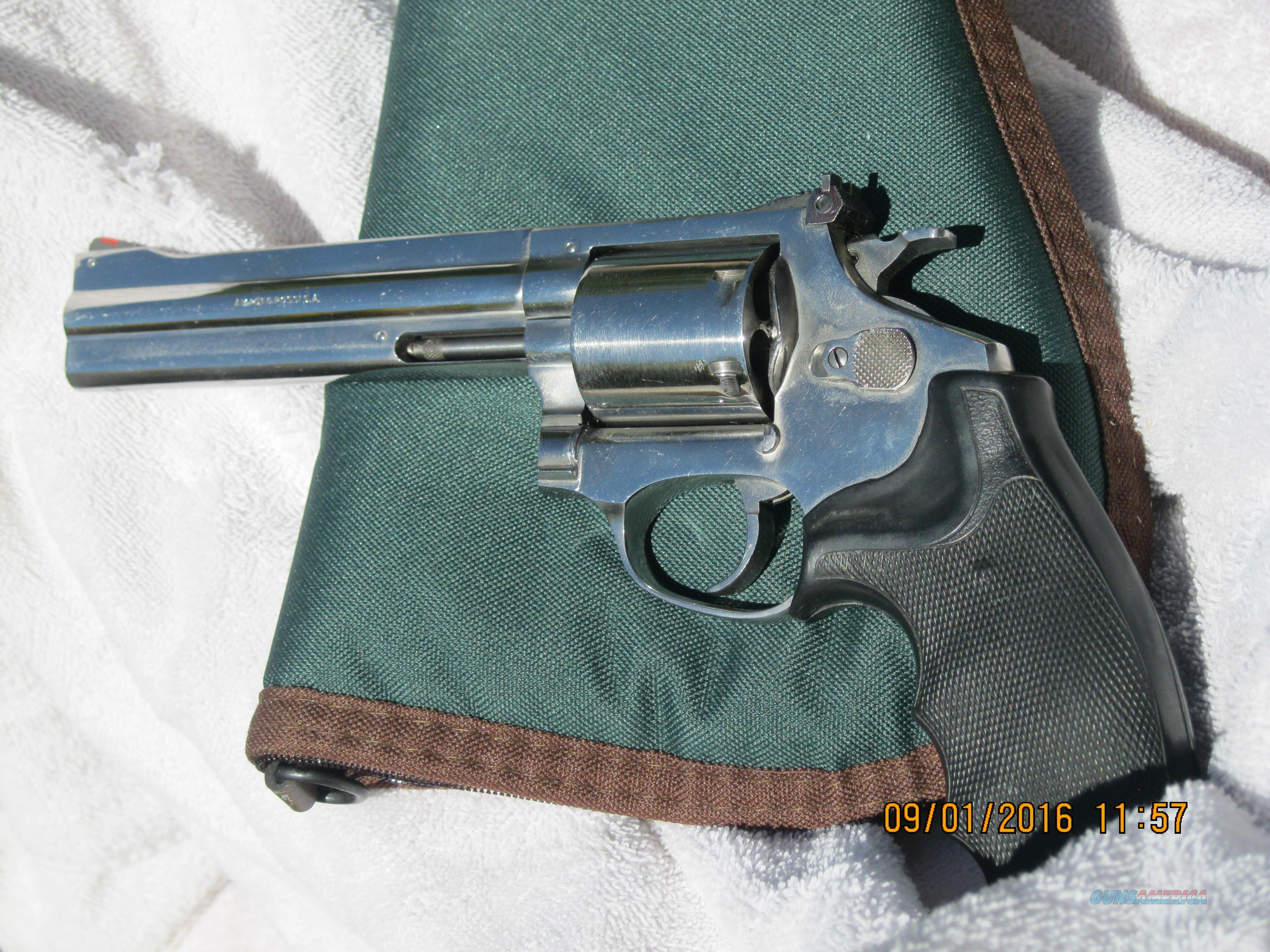 "ROSSI 6"" .357 IN POLISHED STAINLESS STEEL  Guns > Pistols > Rossi Revolvers"