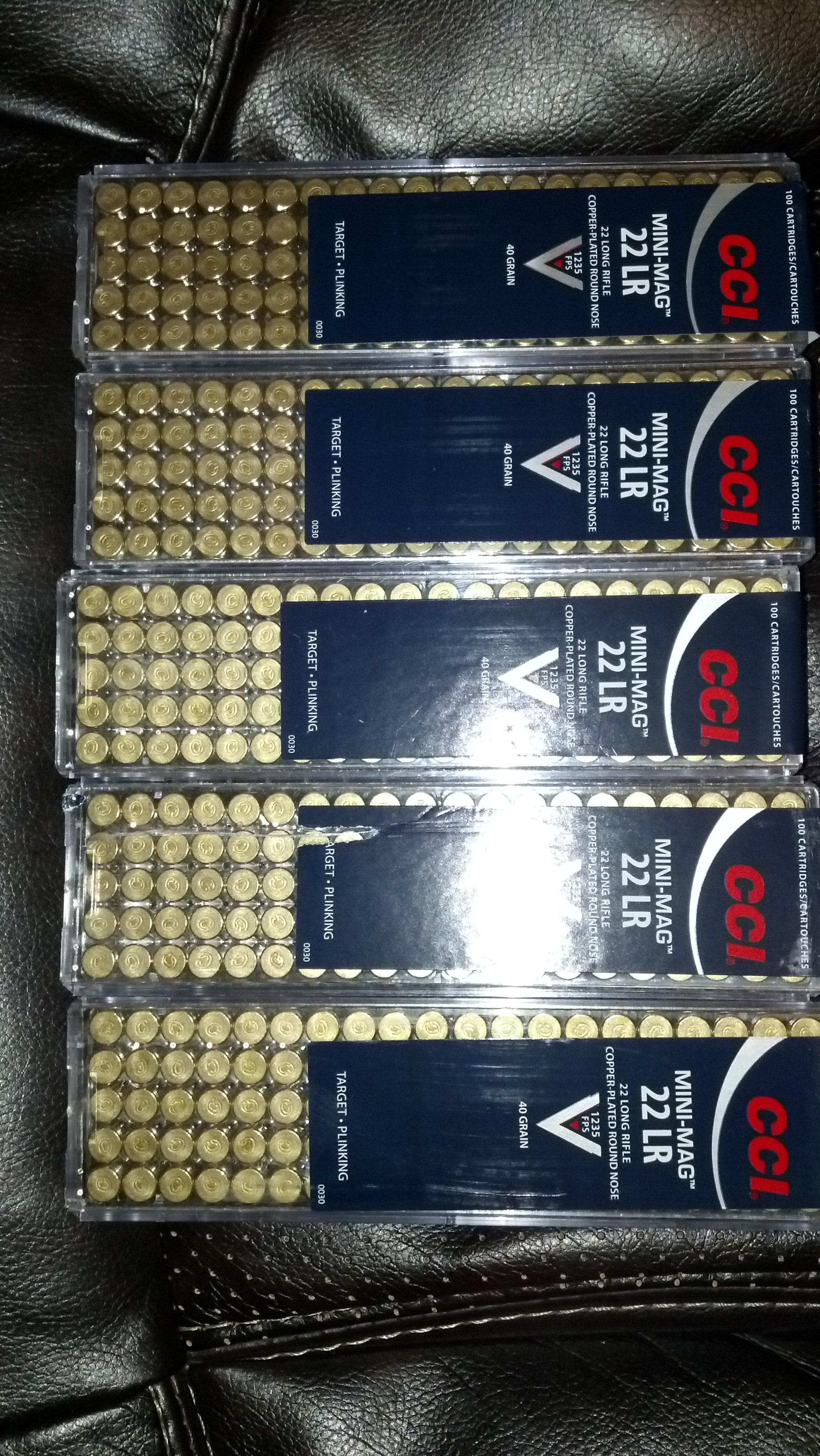 22lr 22 lr cci mini mag 500 rds  Non-Guns > Ammunition