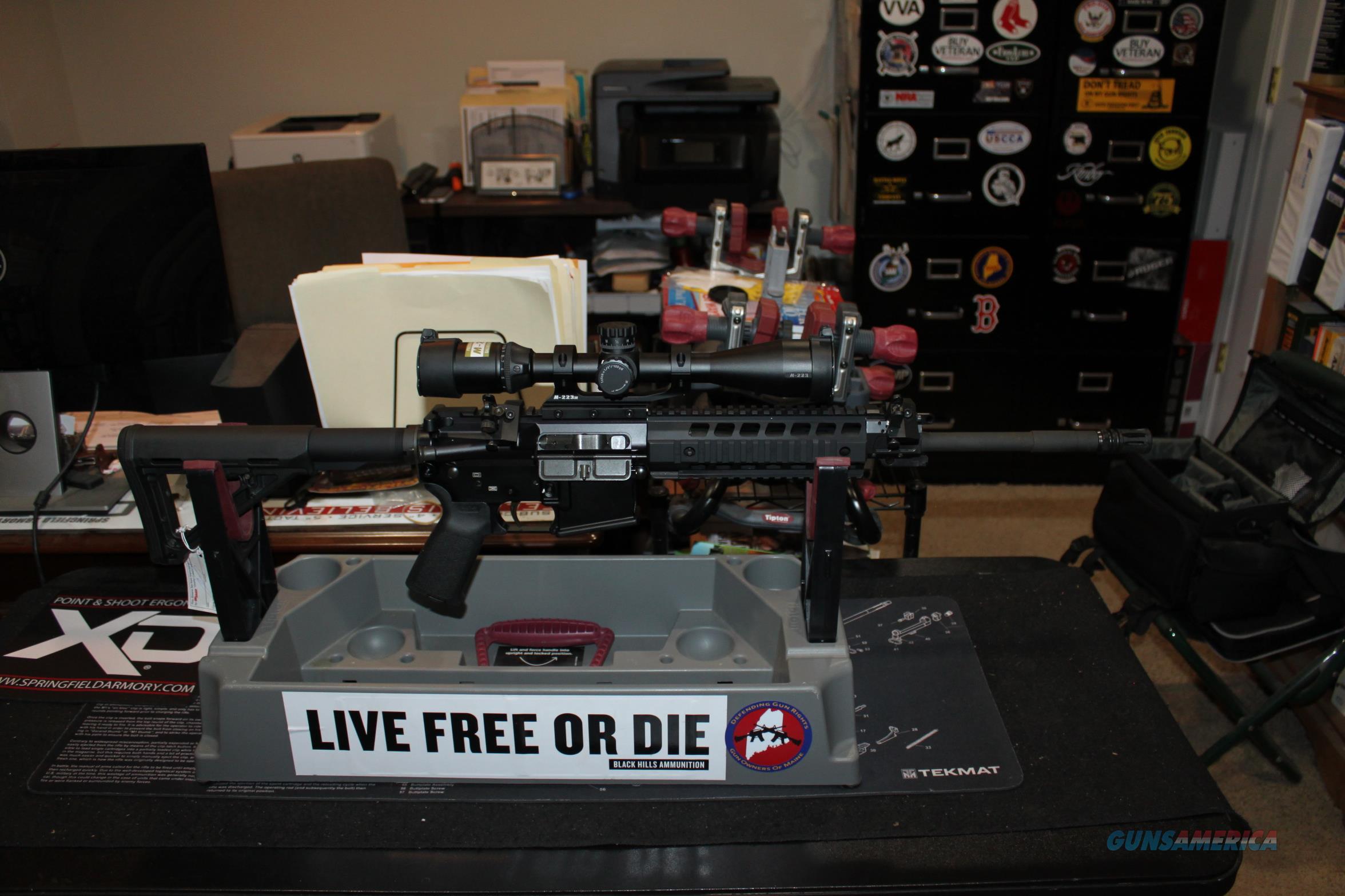 Sig AR15 Patrol Rifle With Nikon Matched 3-12 Scope  Guns > Rifles > Sig - Sauer/Sigarms Rifles