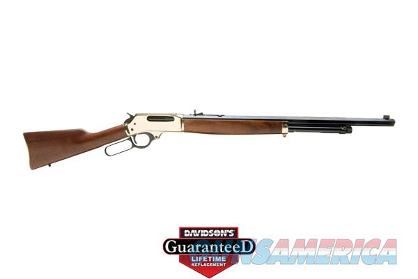Henry Rifle Lever Action Brass Octagon Barrel 45-70 Government NIB  Guns > Rifles > Henry Rifle Company