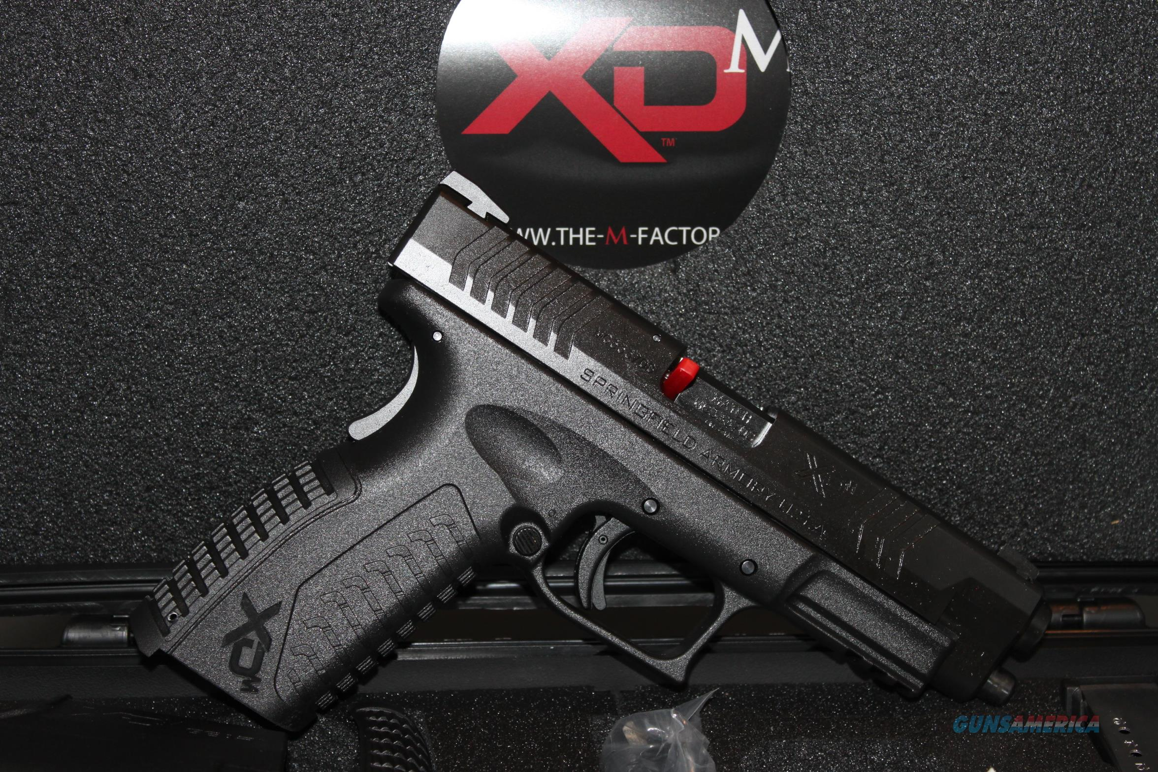 "SPG XDM 40S&W 4.5"" Black NIB  Guns > Pistols > Springfield Armory Pistols > XD-M"