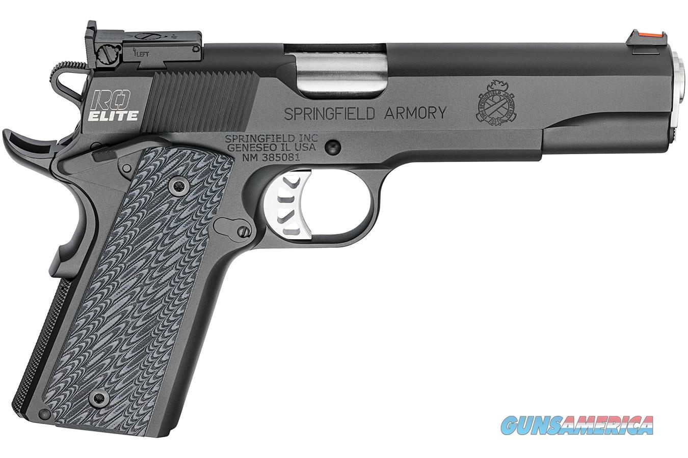 Springfield Armory 1911 Range Officer Elite Target Pistol in 45ACP  Guns > Pistols > Springfield Armory Pistols > 1911 Type
