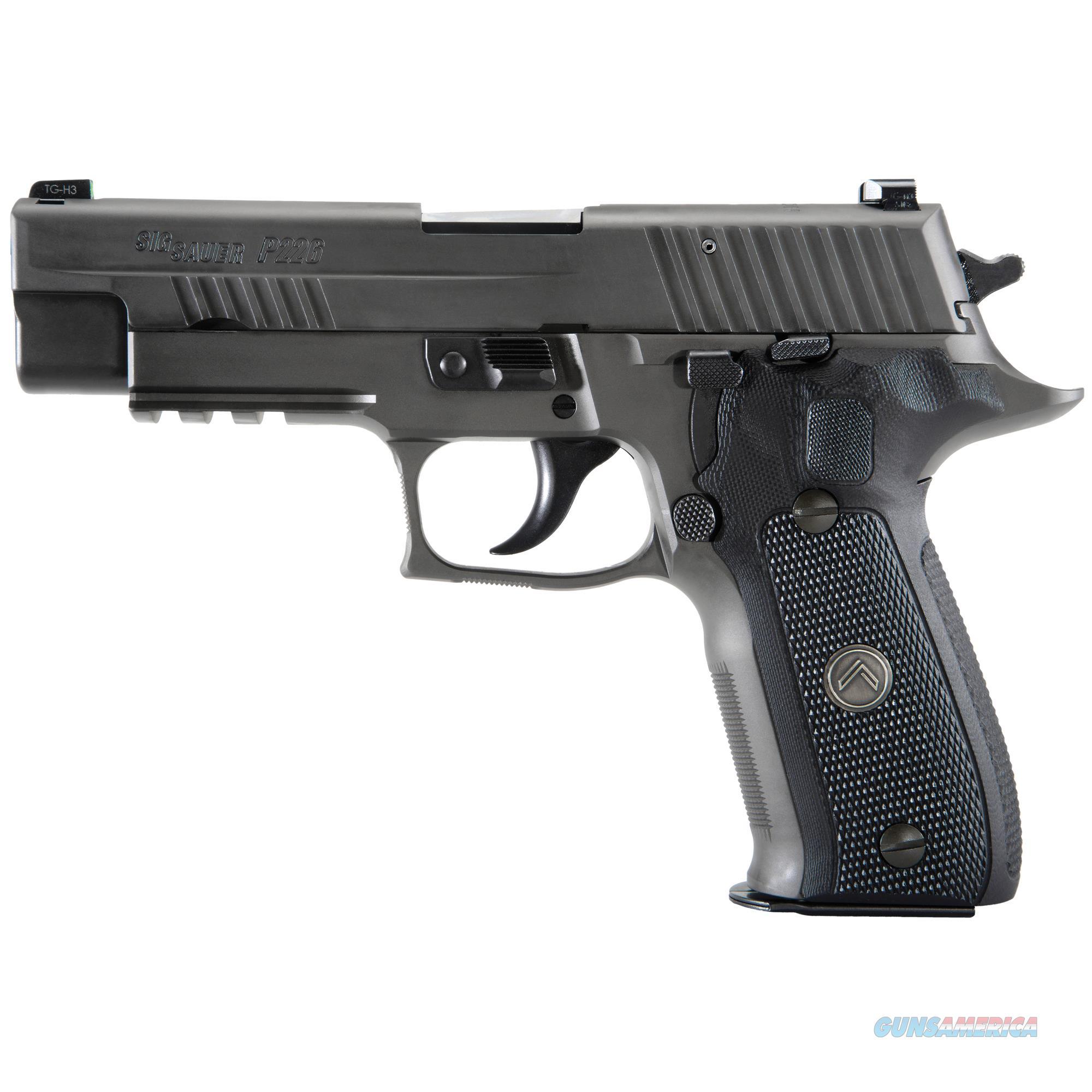 "SIG SAUER P226 LEGION 9MM 4.4"" GRAY 10RD   Guns > Pistols > Sig - Sauer/Sigarms Pistols > P226"