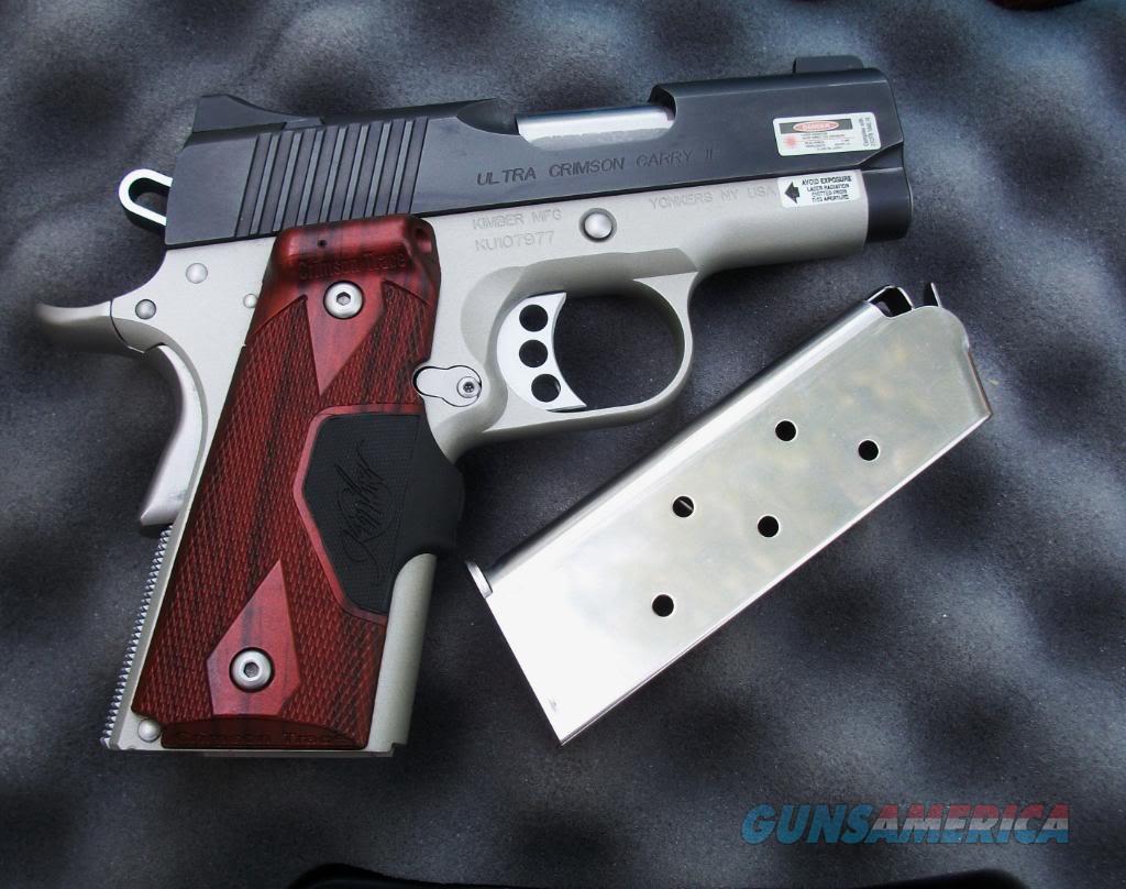 Kimber Ultra Crimson Carry II Green Laser  Guns > Pistols > Kimber of America Pistols > 1911
