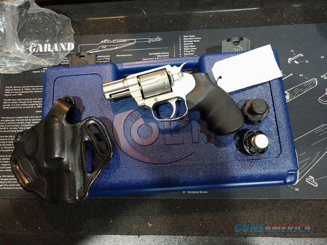 "Colt Cobra Stainless 2"" Model SM2F0  Guns > Pistols > Colt Double Action Revolvers- Modern"