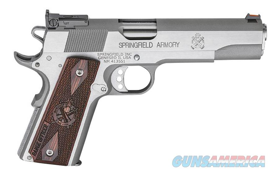 Springfield 1911 A-1 Range Officer 9mm Wood Grips  Guns > Pistols > Springfield Armory Pistols > 1911 Type