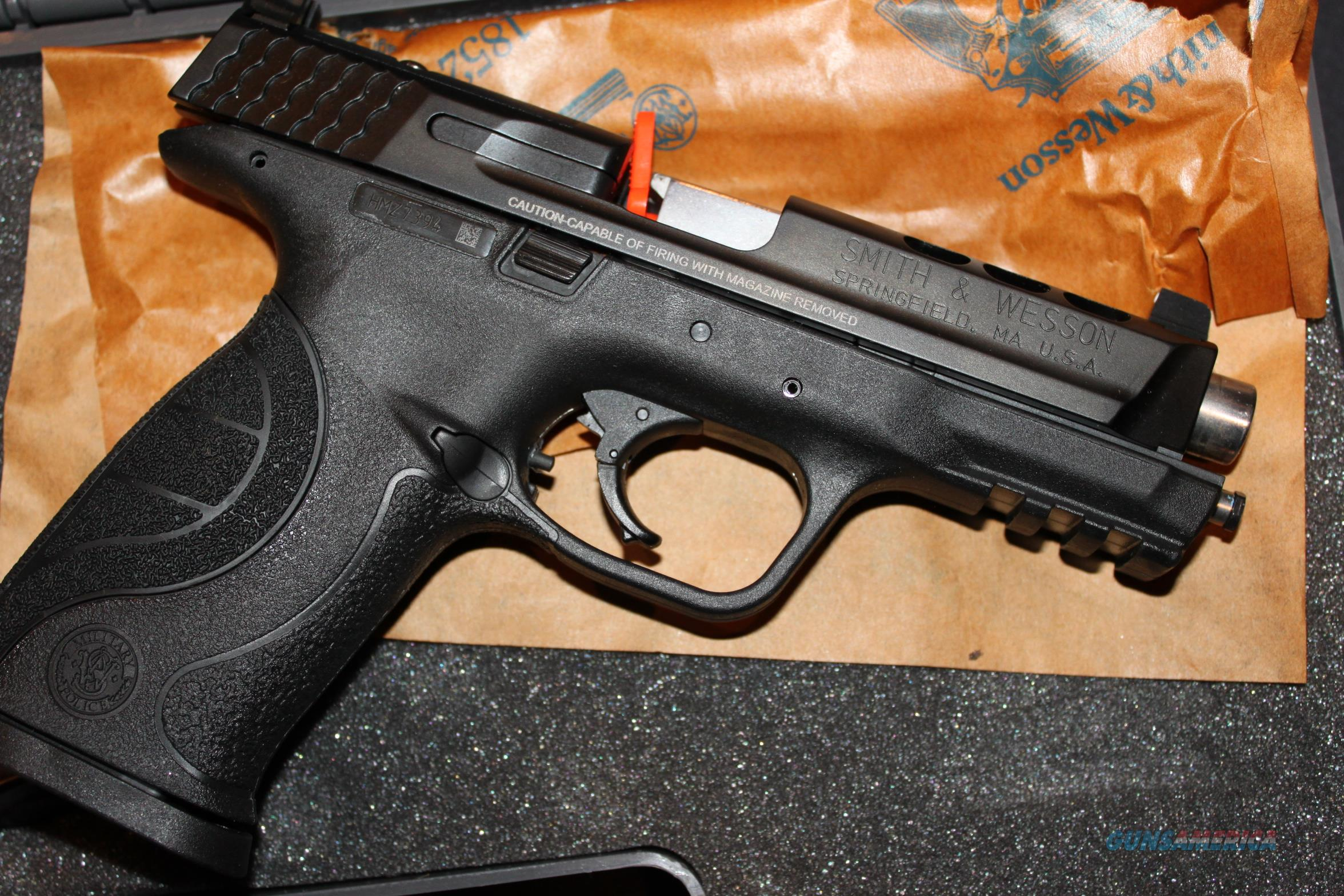 "S&W M&P Performance Center 9mm 4.25"" 17Rd CORE Ported  Guns > Pistols > Smith & Wesson Pistols - Autos > Polymer Frame"