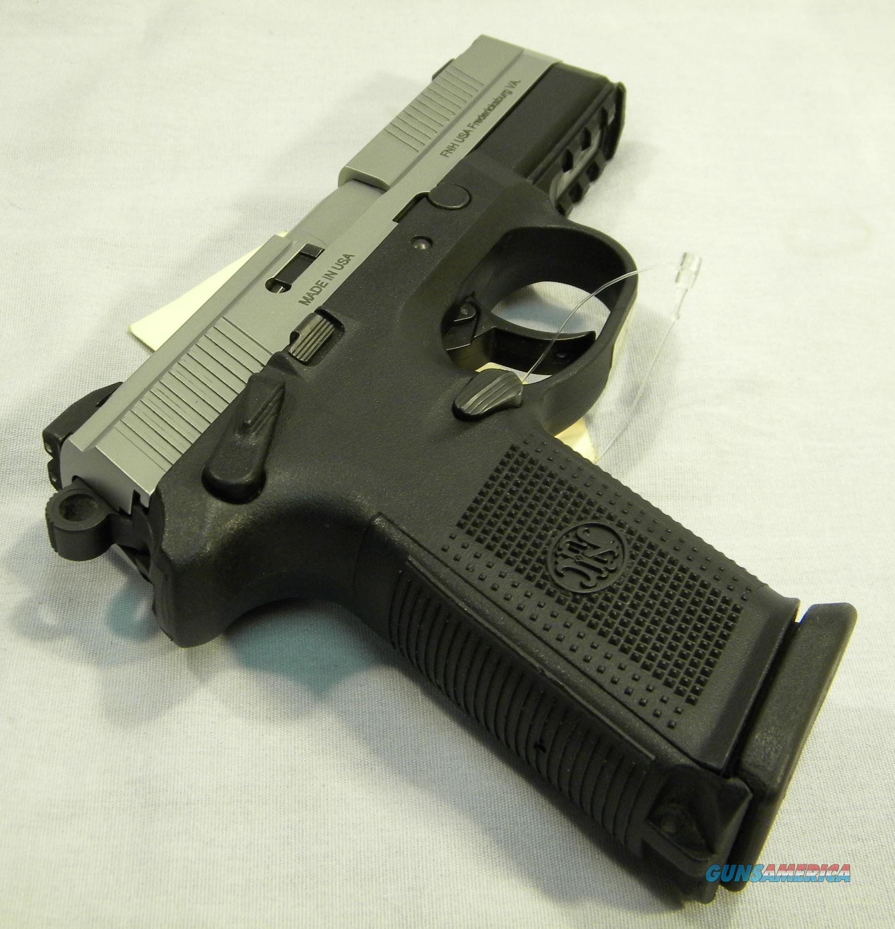 FNX-9 DA/SA Blk & SS with 3 17 rd mags  Guns > Pistols > FNH - Fabrique Nationale (FN) Pistols > FNX