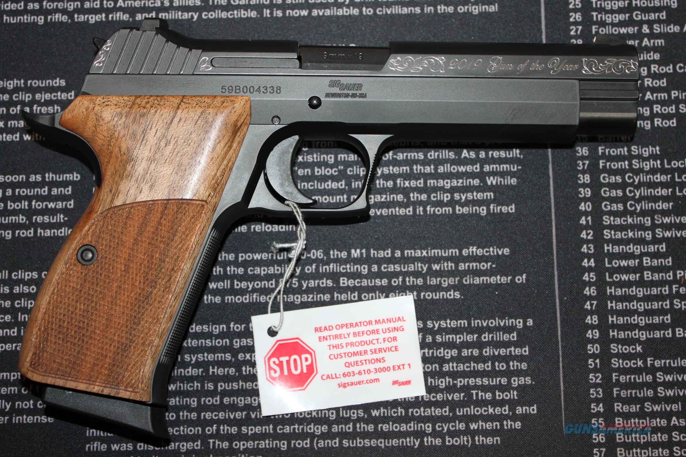 Friends of NRA 2019 Gun Of Year Sig P210 9mm  Guns > Pistols > Sig - Sauer/Sigarms Pistols > Other