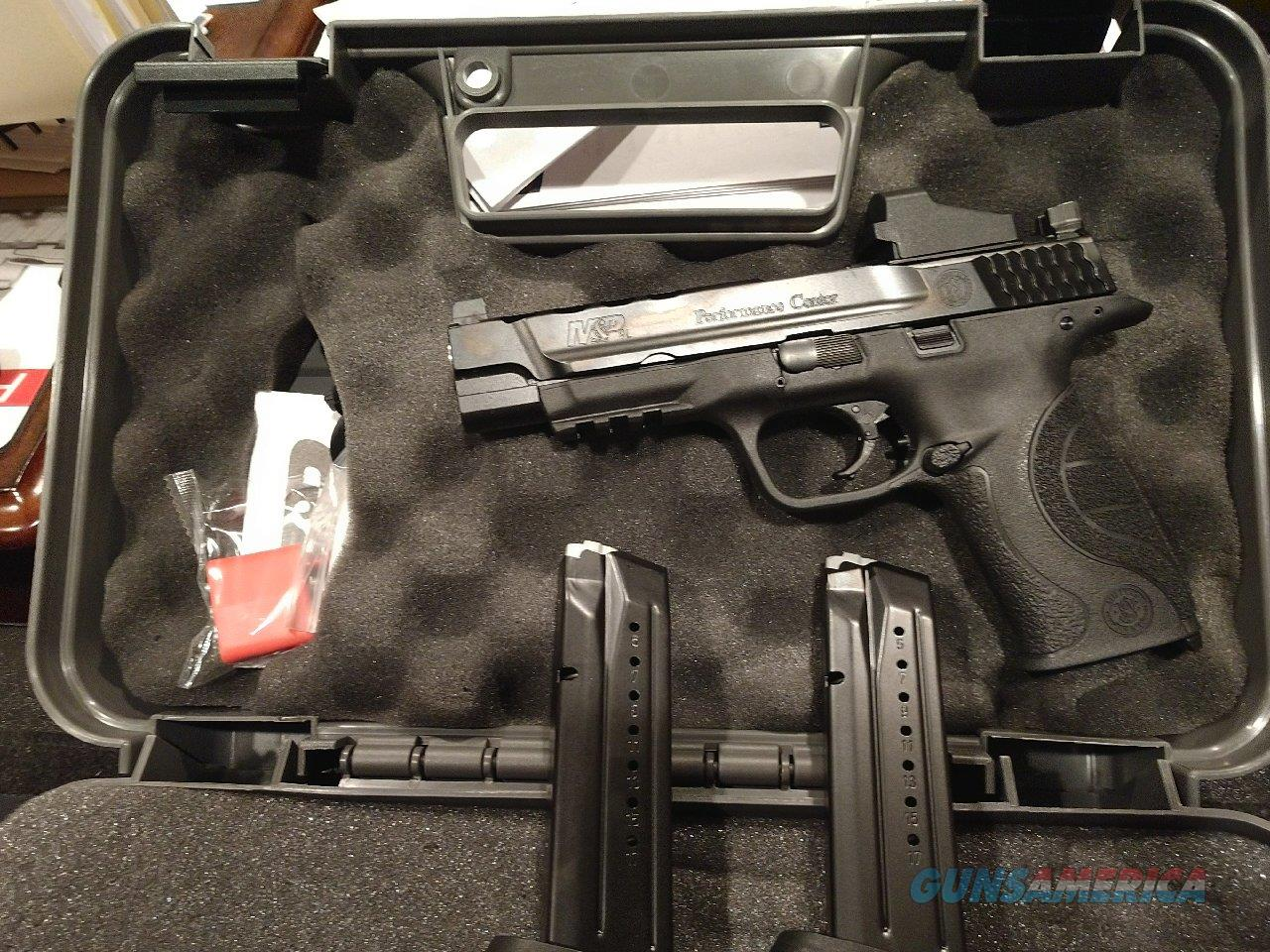 S&W M&P Ported w/Red Dot  Guns > Pistols > Smith & Wesson Pistols - Autos > Polymer Frame