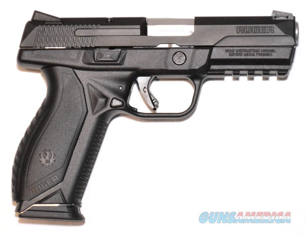 Ruger American Pistol 9mm 17 Round Black  Guns > Pistols > Ruger Semi-Auto Pistols > American Pistol