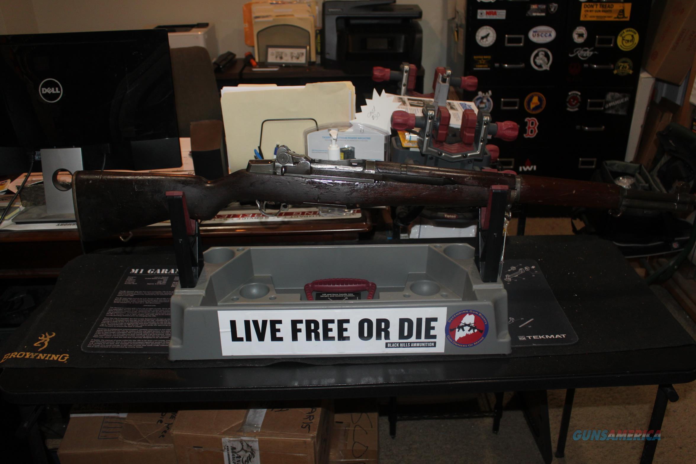 Springfield Armory M1 Garand December 1944 (CMP)  Guns > Rifles > Springfield Armory Rifles > M1 Garand