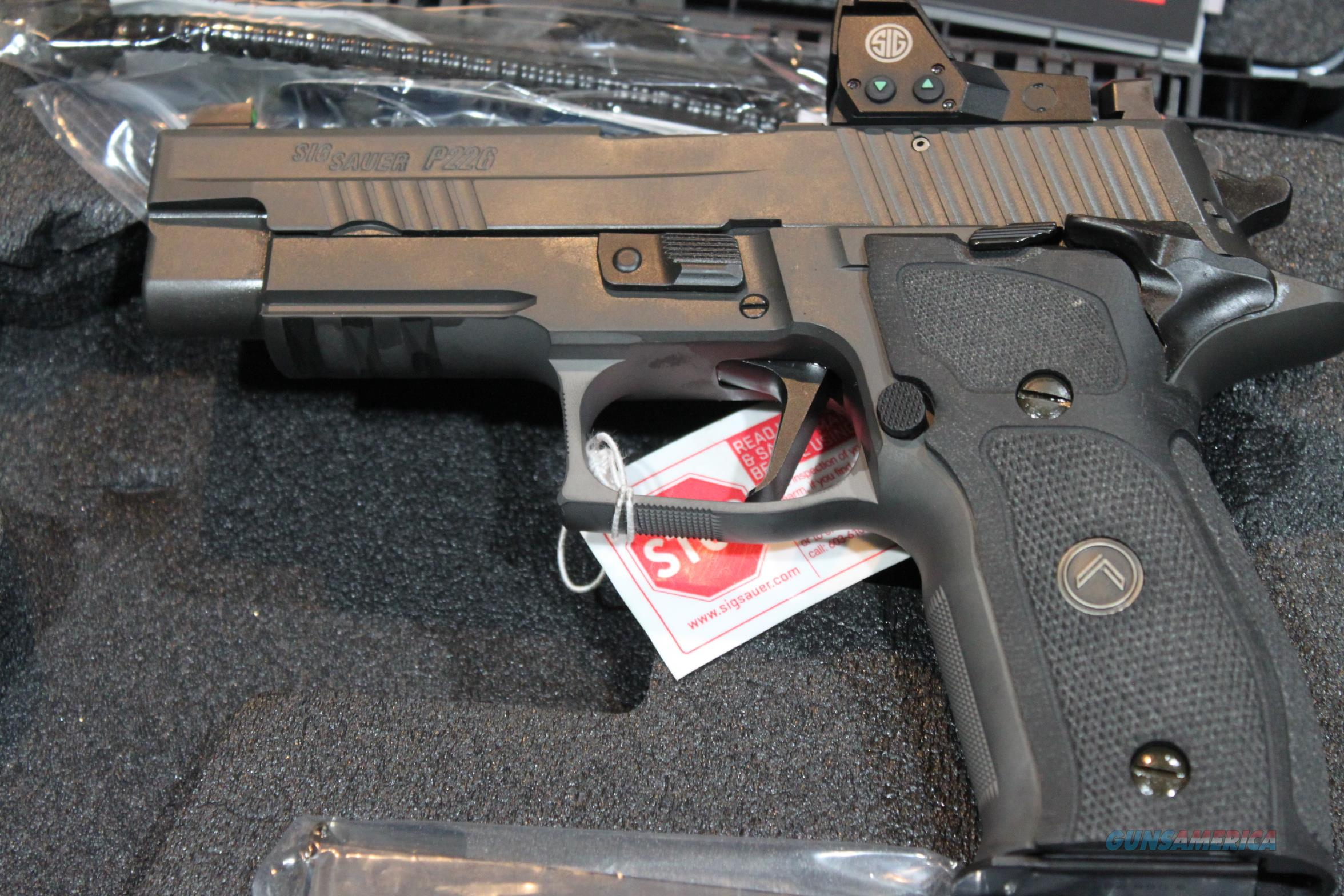 Sig Sauer Legion SAO with RX in 9mm  Guns > Pistols > Sig - Sauer/Sigarms Pistols > P226