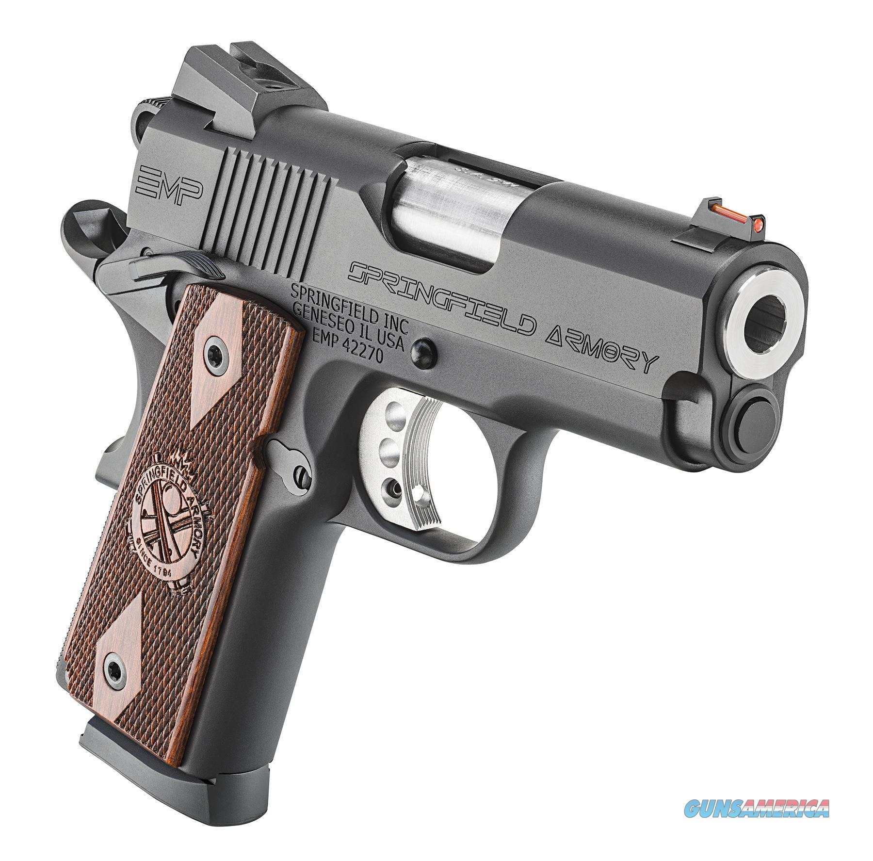 Springfield Armory EMP 9mm Compact 9 Rds  Guns > Pistols > Springfield Armory Pistols > 1911 Type