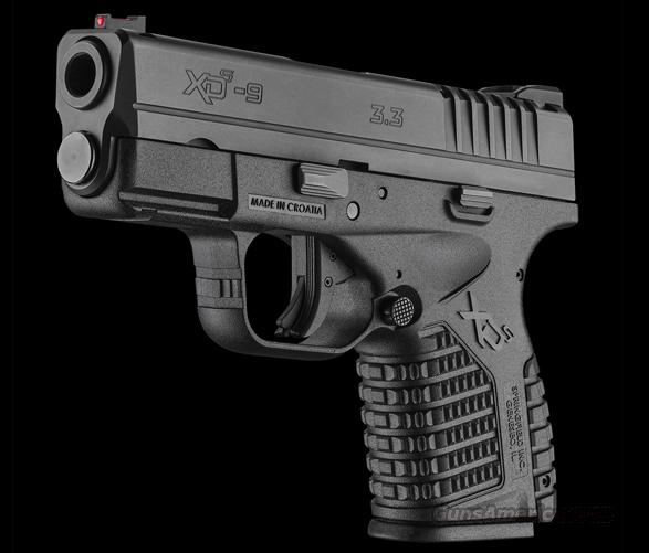 Springfield XDS 9mm Post Recall NIB with 3 Mags  Guns > Pistols > Springfield Armory Pistols > XD-S