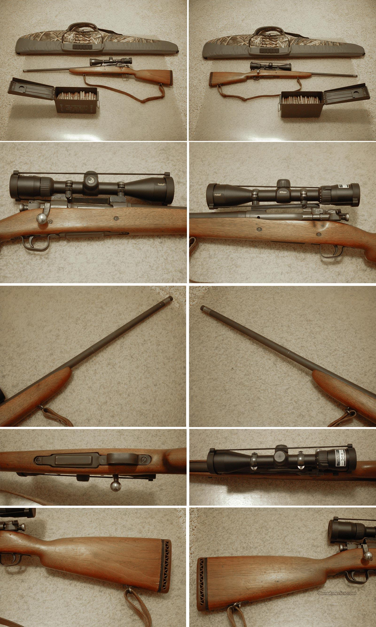 Remington 03-A3 w/Scope, 255 rounds ammo, case  Guns > Rifles > Remington Rifles - Modern > Bolt Action Non-Model 700 > Sporting