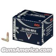 CCI 22lr  MINI-MAG 375rd box copper plated round nose  Non-Guns > Ammunition
