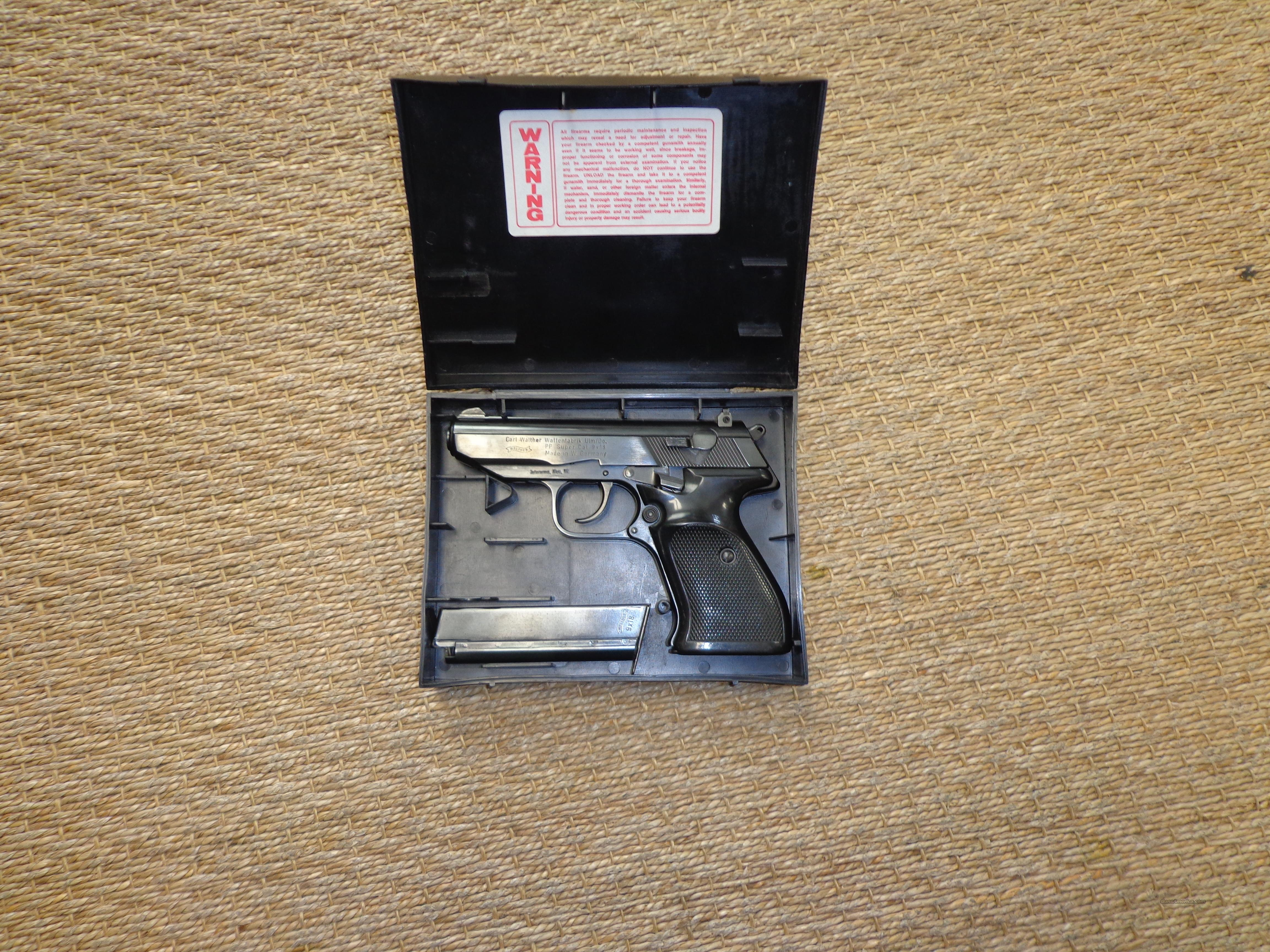 WALTHER PP SUPER 9X18  Guns > Pistols > Walther Pistols > Post WWII > PPS