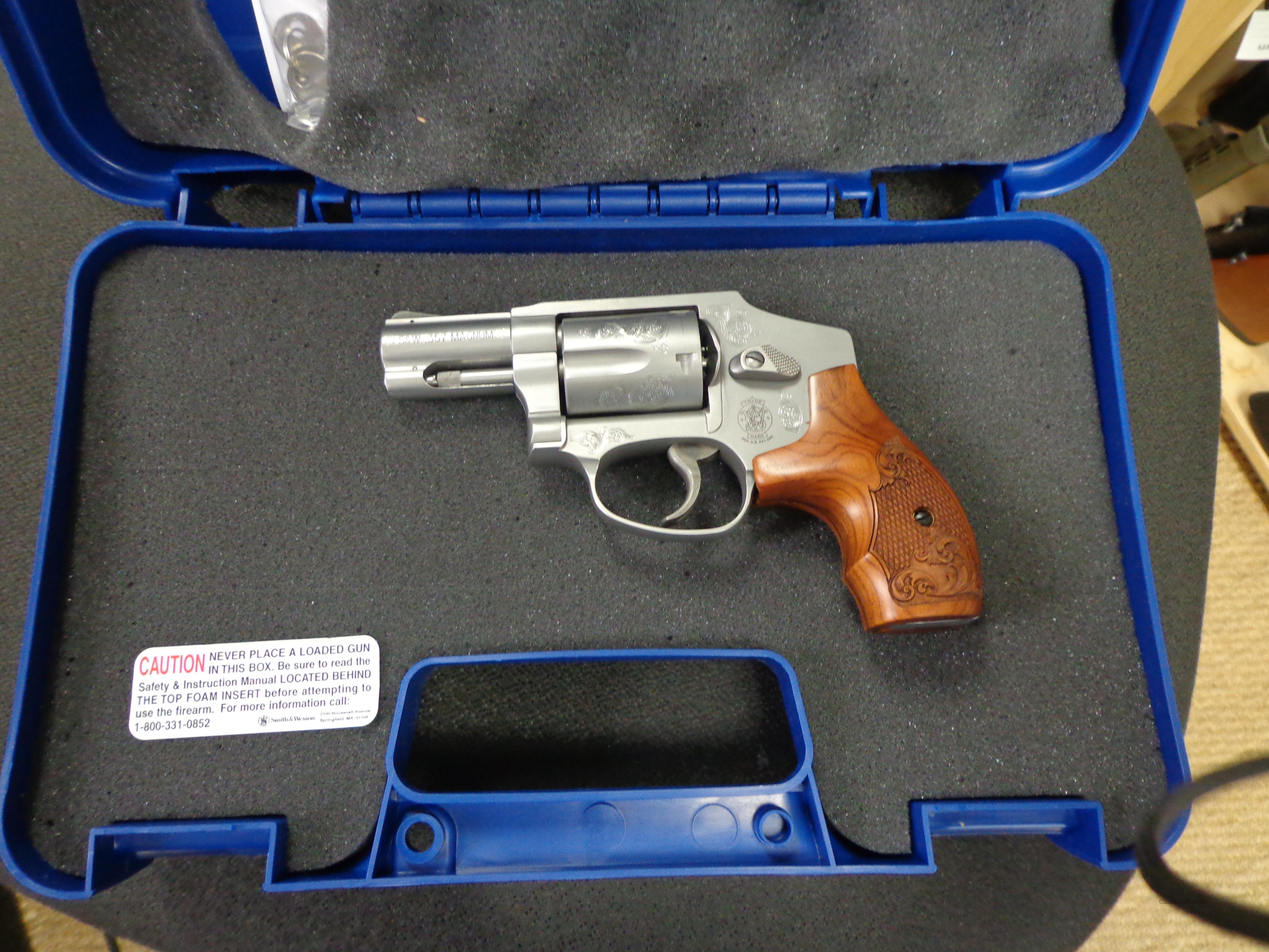 SMITH&WESSON 640 357mag W/CASE  Guns > Pistols > Smith & Wesson Revolvers > Pocket Pistols