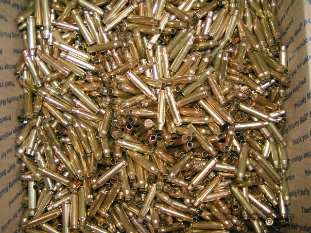 2,500 Rounds .223/5.56 Once Fired, Cleaned and Tumbler Polished  Non-Guns > Reloading > Components > Brass