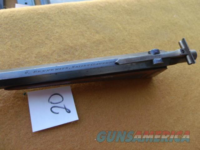 buchel 4mm barrel for olympic pisto;  Non-Guns > Barrels