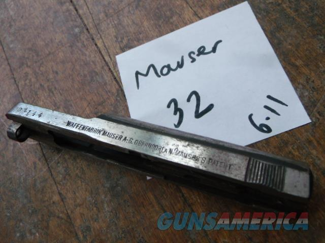 mauser 32 auto slide  Non-Guns > Gun Parts > Military - Foreign