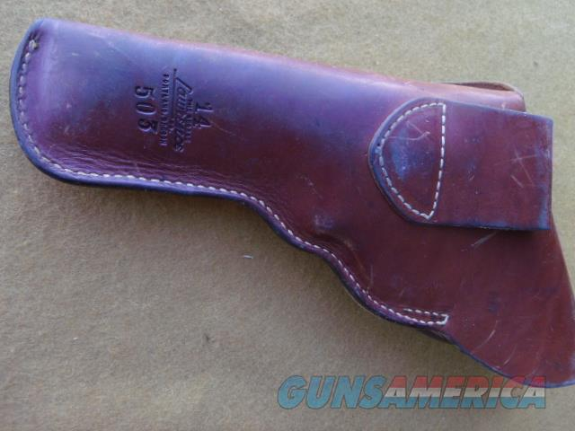 george lawrence full flap for colt new service  Non-Guns > Holsters and Gunleather > Revolver