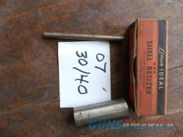 lyman ideal 30 40 shell resizer  Non-Guns > Reloading > Equipment > Metallic > Dies