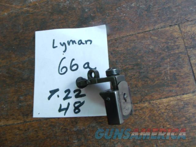 lyman 66a  Non-Guns > Iron/Metal/Peep Sights