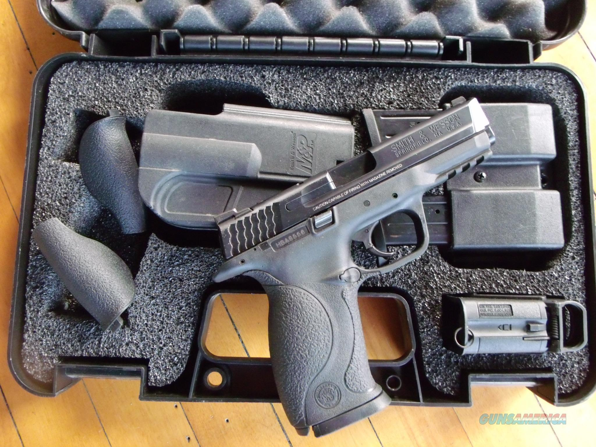 Smith and Wesson MP9 full size in case  Guns > Pistols > Smith & Wesson Pistols - Autos > Polymer Frame