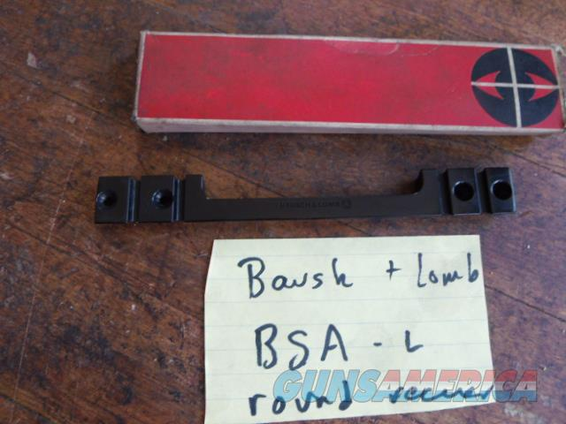 bsa bolt action rifle scope base  Non-Guns > Scopes/Mounts/Rings & Optics > Mounts > Other
