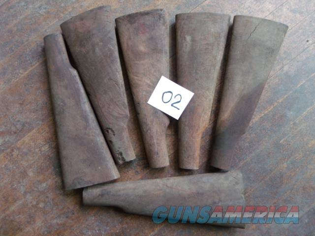 6 shaped buttstocks shaped buttstocks   Non-Guns > Gunstocks, Grips & Wood