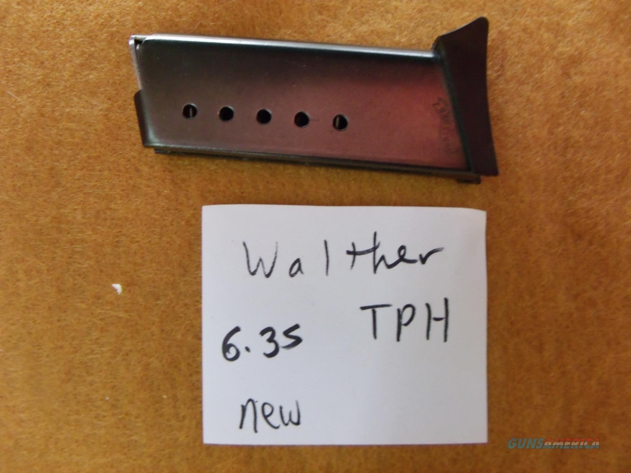 walther tph 6,35 25 auto new  Non-Guns > Magazines & Clips > Pistol Magazines > Other