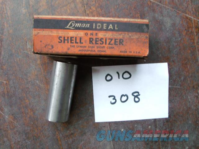 lyman 308 shell resizer  Non-Guns > Reloading > Equipment > Metallic > Dies