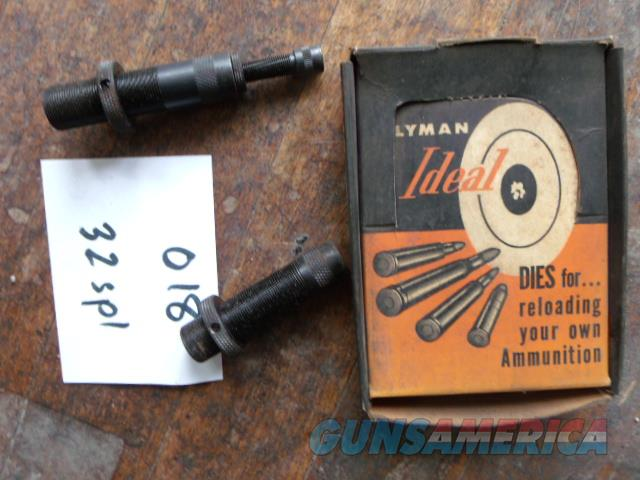 lyman ideal 32 win spell  Non-Guns > Reloading > Equipment > Metallic > Dies