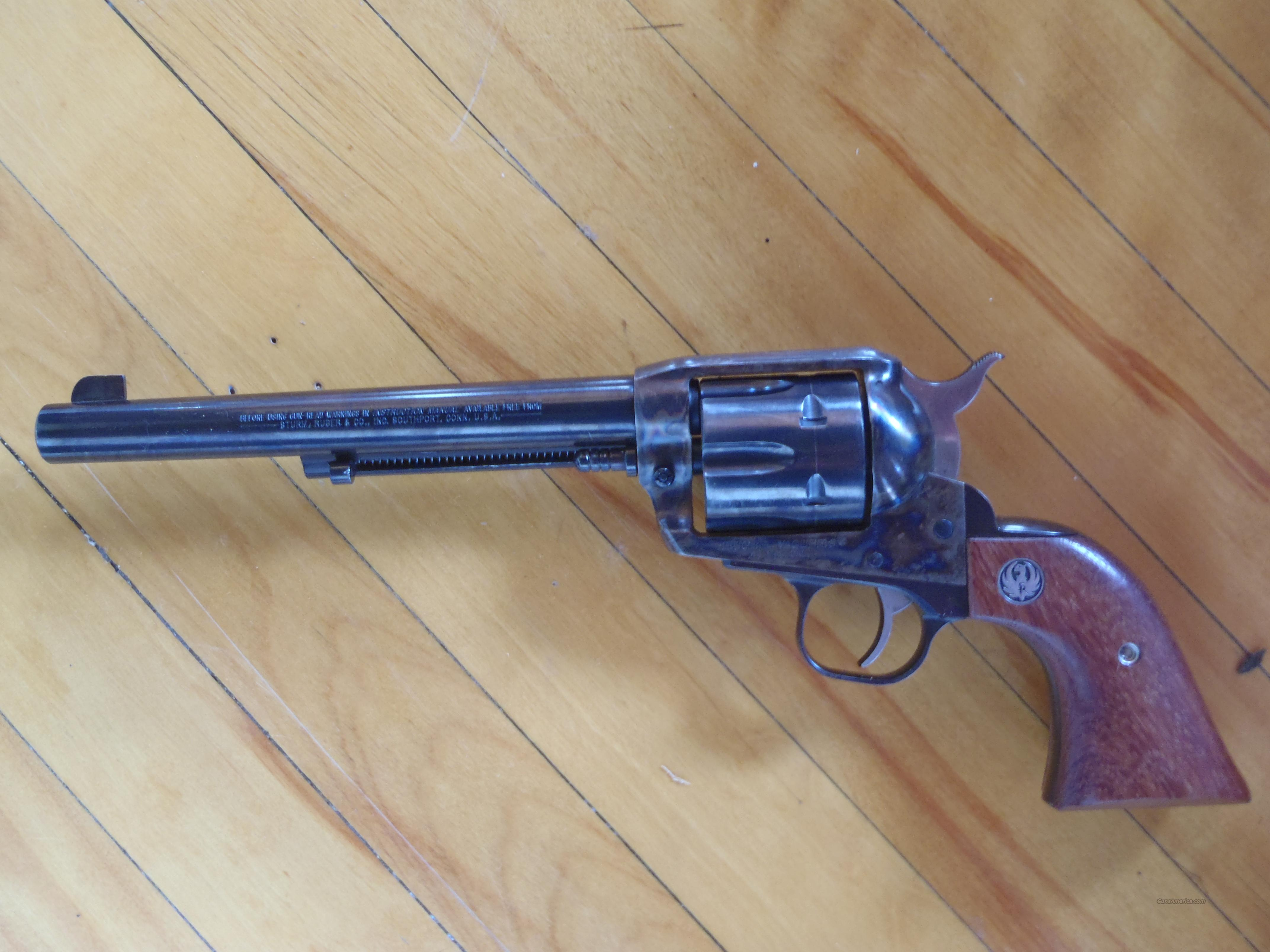 ruger vaquero 44 mag 7 1/2 blue/cc  Guns > Pistols > Ruger Single Action Revolvers > Cowboy Action