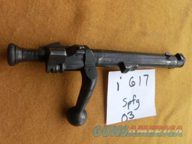springfield 03 bolt  Non-Guns > Gun Parts > Antique & Collector Parts > WWII > America