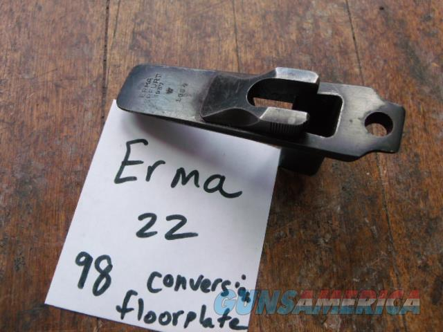 ww2 k98 erma 22 floorplate  Non-Guns > Gun Parts > Antique & Collector Parts > WWII > Germany