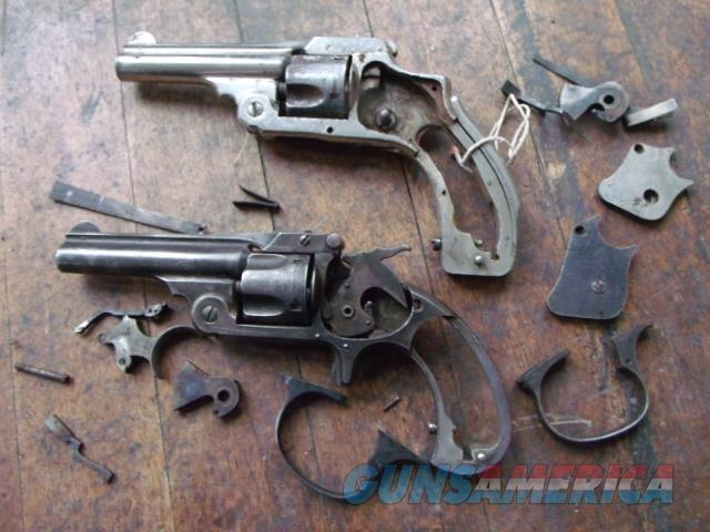 pair of antique s+w missing parts  Non-Guns > Gun Parts > Misc > Pistols