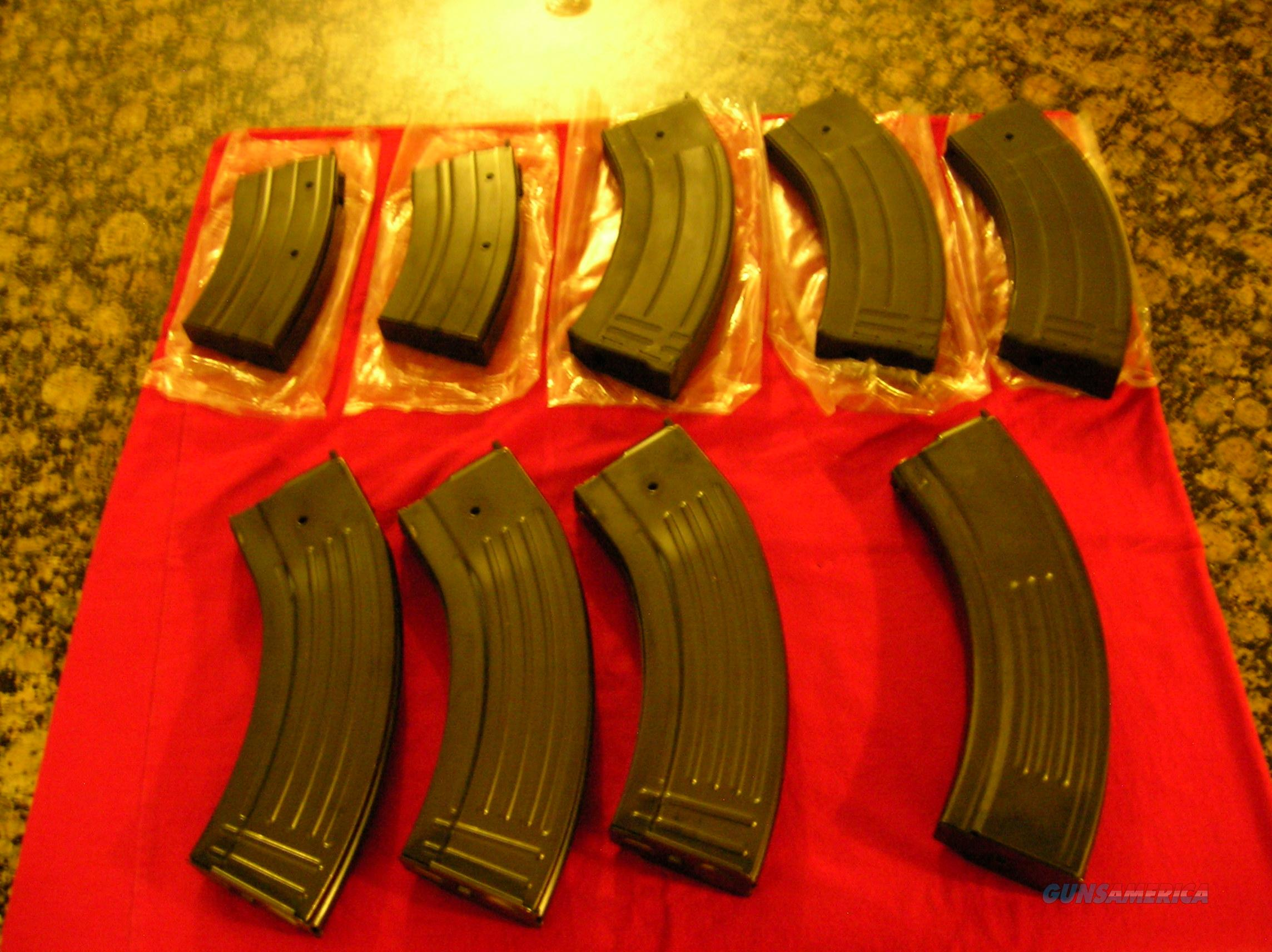 Ruger Mini 30 Magazine lot in 7.62 x 39  Non-Guns > Magazines & Clips > Rifle Magazines > Mini 14