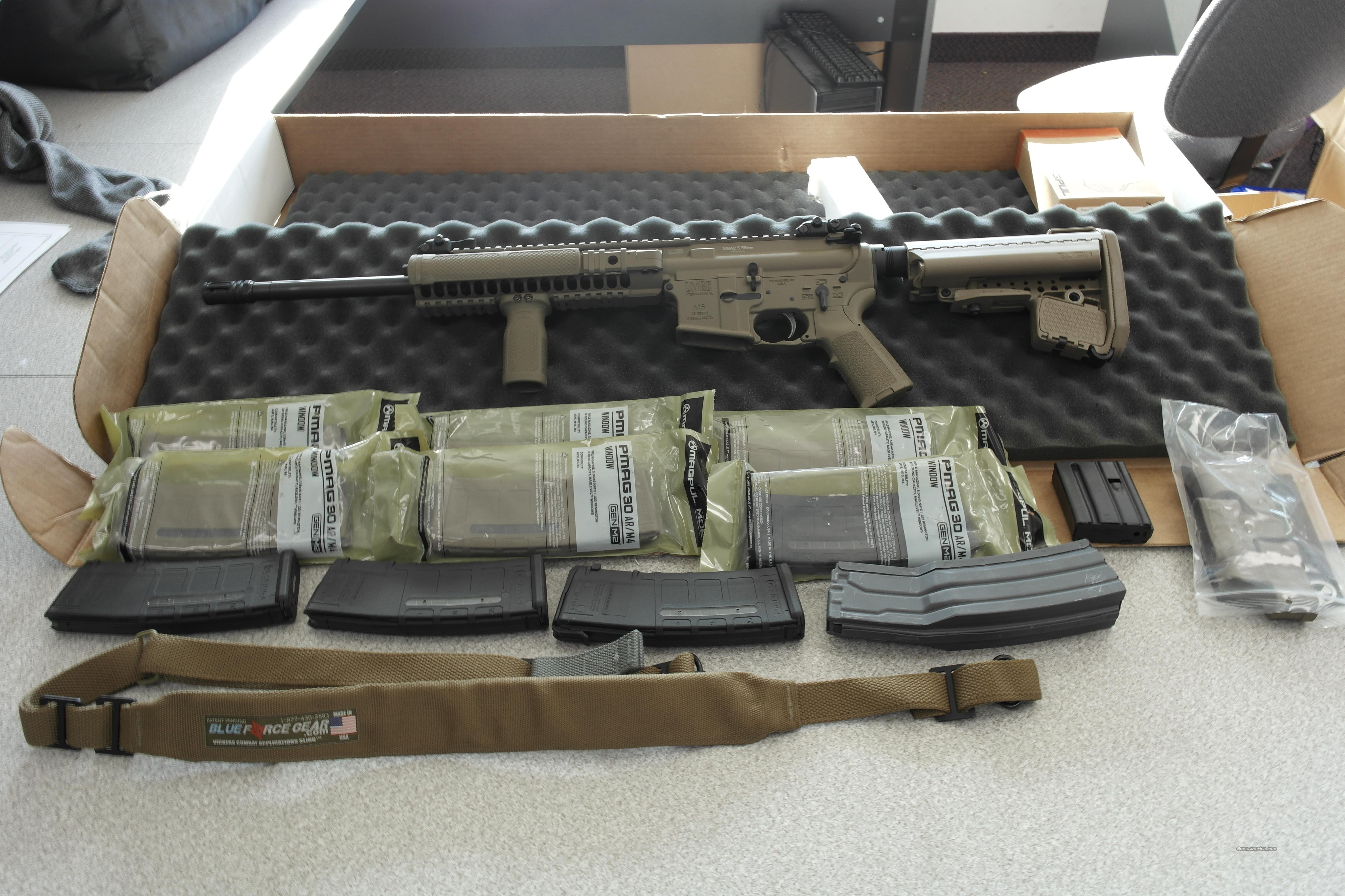 LWRC M6A2 FDE, Magpul, Pmags, Sling  Guns > Rifles > AR-15 Rifles - Small Manufacturers > Complete Rifle