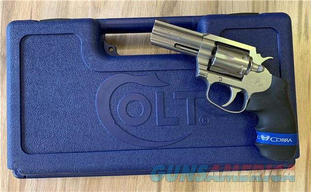 COLT KING COBRA 357 MAG REVOLVER  Guns > Pistols > Colt Double Action Revolvers- Modern