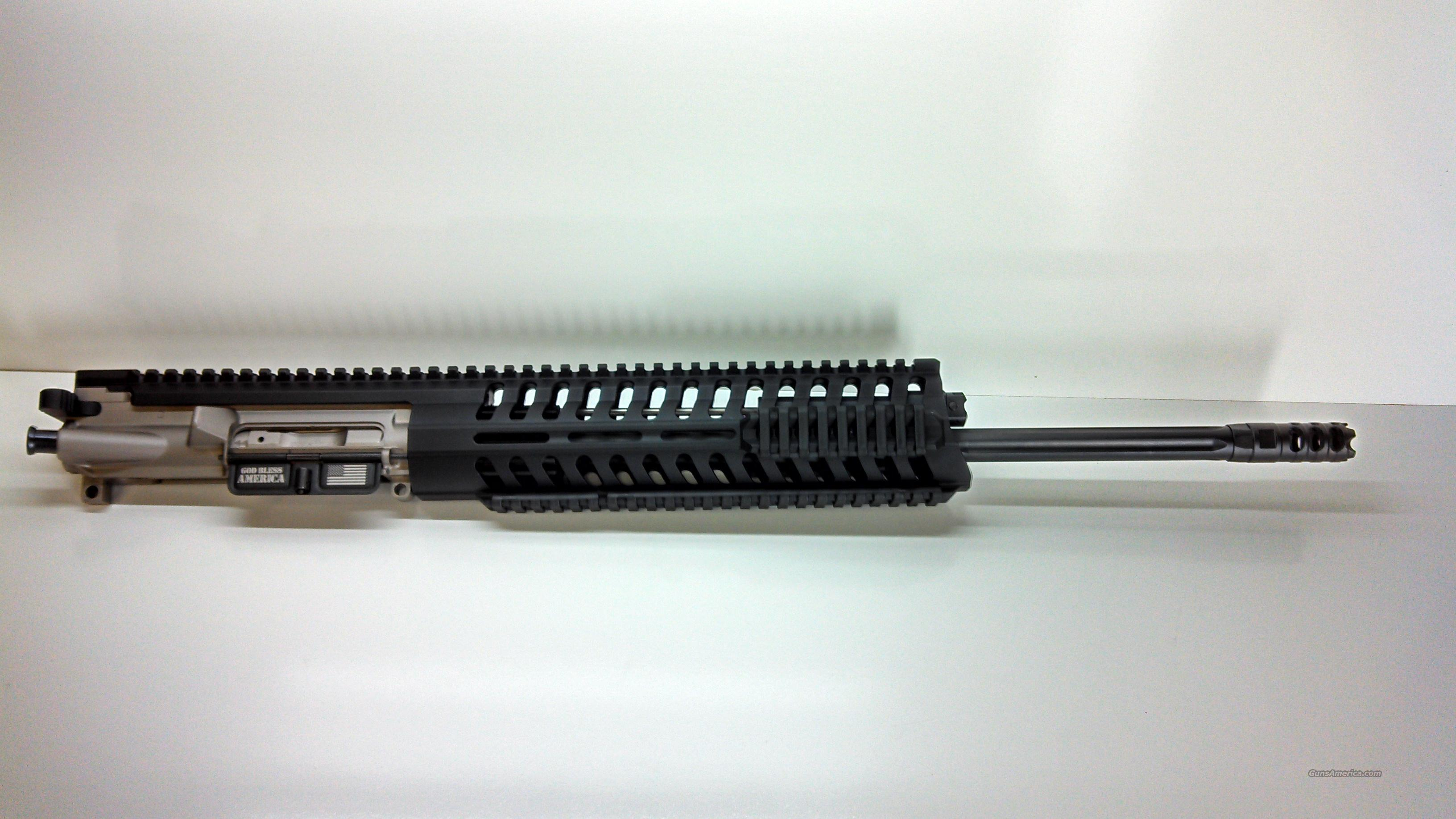 POF-USA P415 18'' SERIES T RAIL 5.56NATO NP3 COATED COMPLETE UPPER  Non-Guns > Barrels