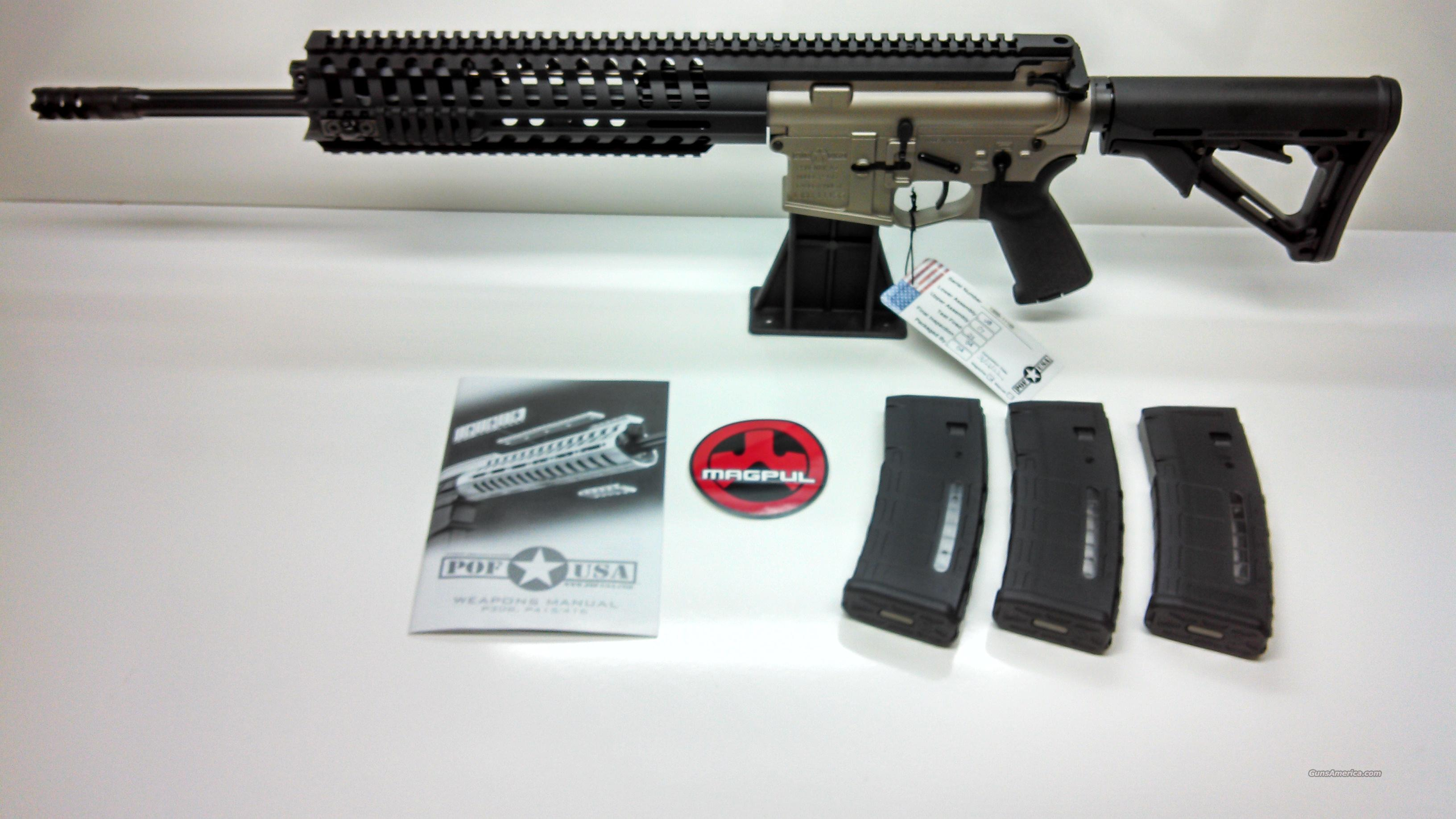 "POF-USA P415 SERIES T RAIL 16.5"" NP3 - PMAG MAGAZINES INCLUDED  Guns > Rifles > Tactical Rifles Misc."