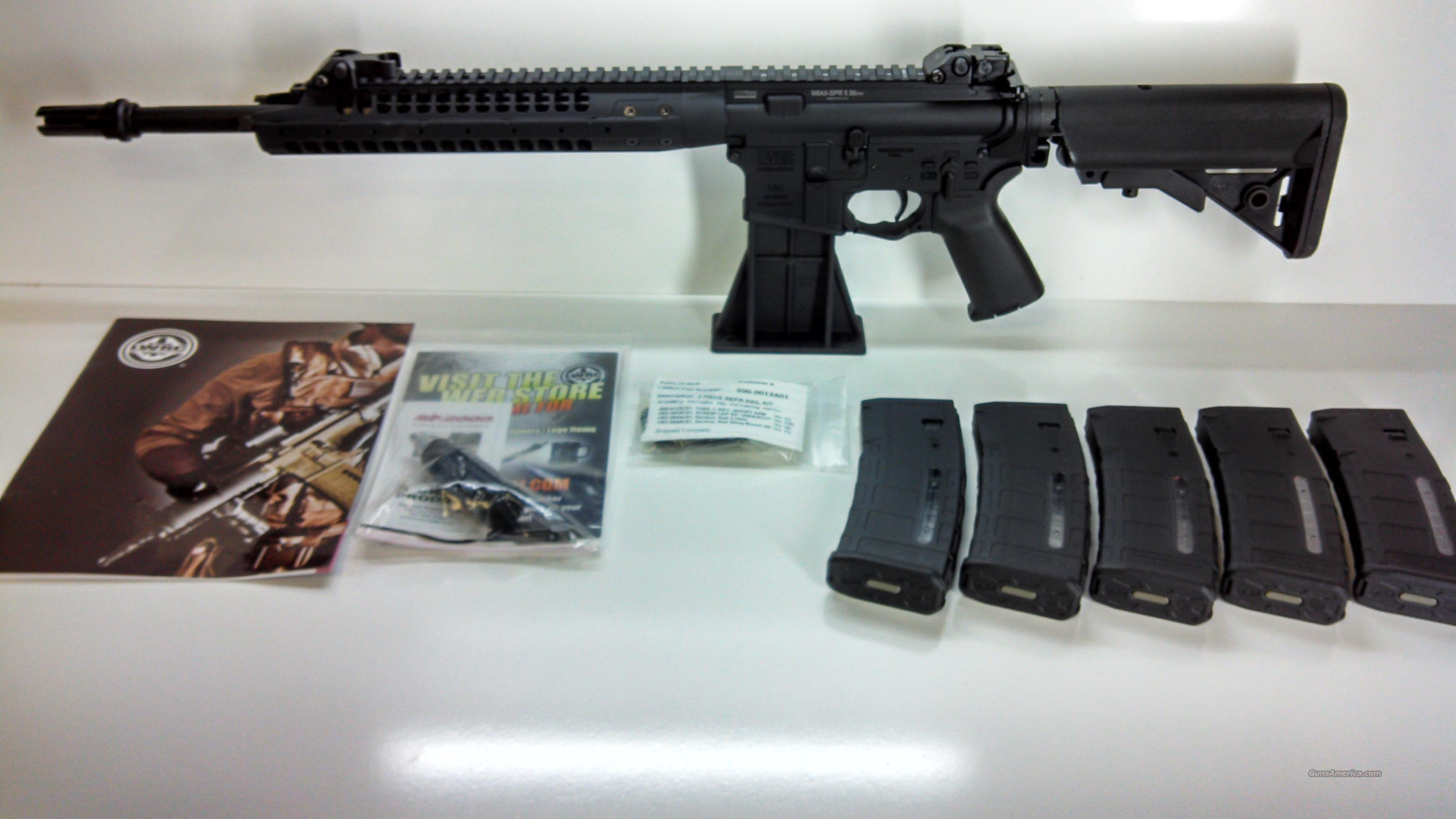 "LWRC M6A5 Semi-auto Rifle 5.56 NATO 16.1"" Barrel SPR - PMAGS INCLUDED - LIMITED EDITION  Guns > Rifles > Tactical Rifles Misc."