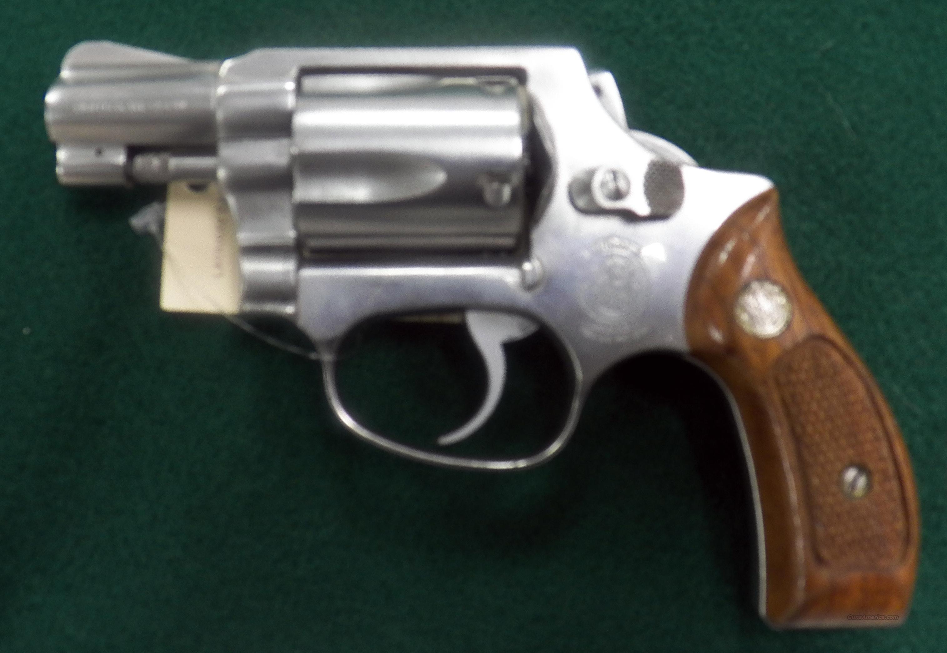 Smith & Wesson 60 - Stainless Steel Used  Guns > Pistols > Smith & Wesson Revolvers > Pocket Pistols