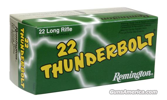 500 rnds. .22 LR Remington  Non-Guns > Ammunition