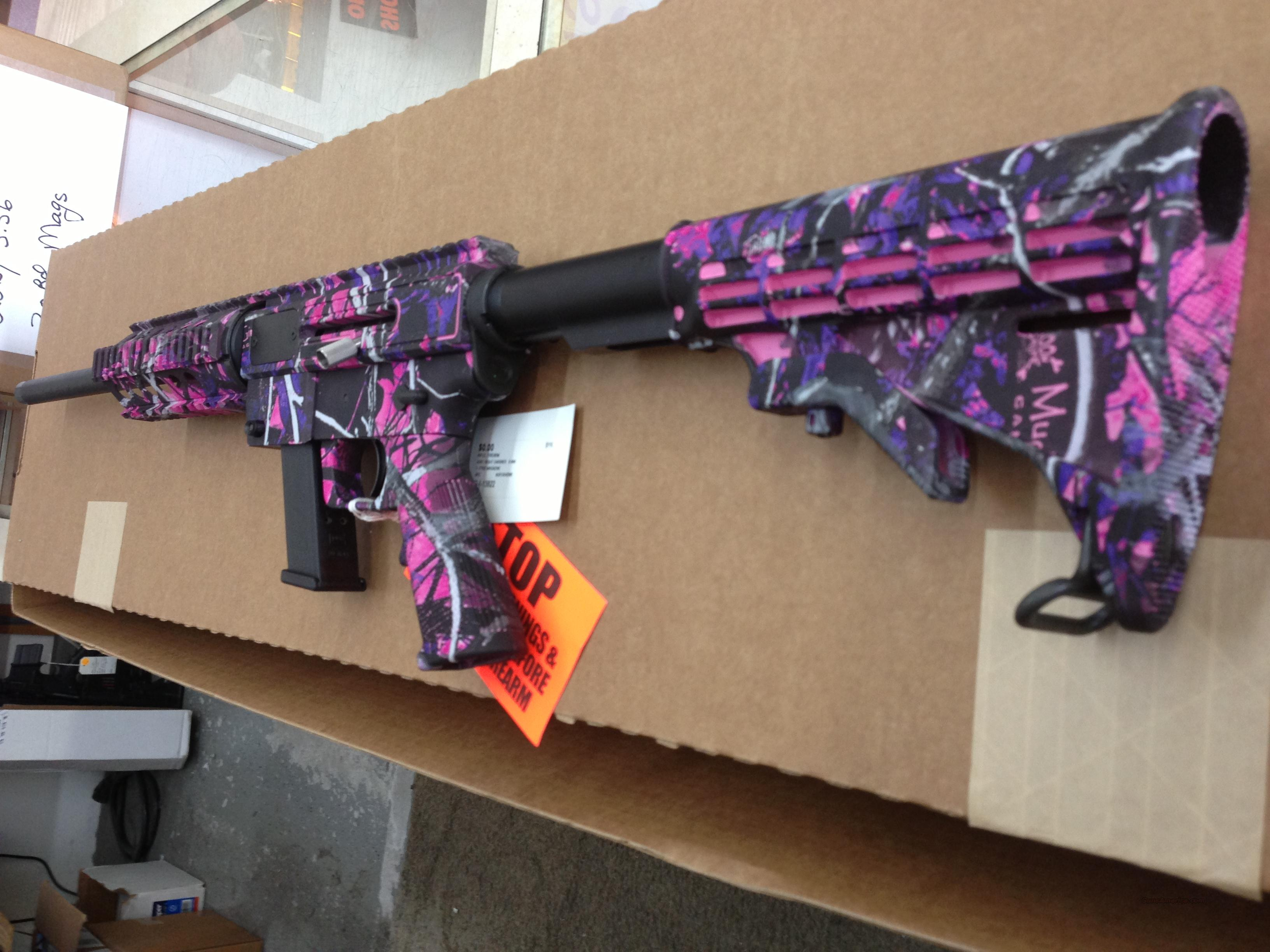 Just Right CArbine JRC Carbine 9MM Mudy Girl Pink Camo  Guns > Rifles > IJ Misc Rifles